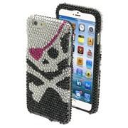 """Insten® Diamante Protector Cover F/4.7"""" iPhone 6, Skull"""