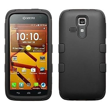 Insten® Rubberized TUFF Hybrid Phone Protector Covers For Kyocera C6730/C6530