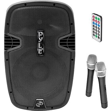 PYLE - PRO SOUND PPHP159WMU Bluetooth PA Loudspeaker with 2 Wireless Mics