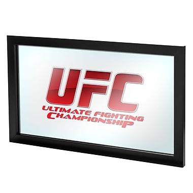 UFC Wood Framed Logo Mirror, V2