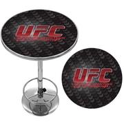 UFC Vinyl & Foam Swivel Bar Stool, Black
