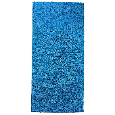 Lavish Home Carpet Shag Rug, Blue