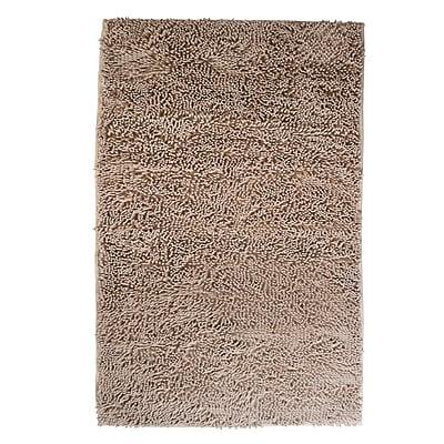 Lavish Home High Pile Carpet Shag Rug, Ivory