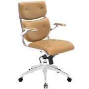 Modway EEI-1062-TAN Push Midback Office Chair, Tan