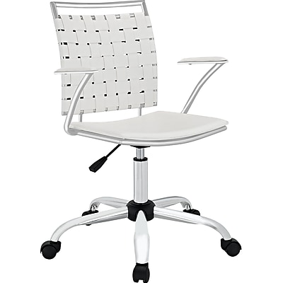Modway EEI-1109-WHI Fuse Office Chair, White