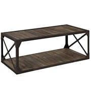 Modway EEI-1203-BRN Wood/Metal Basic Stand, Brown