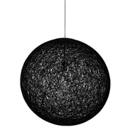 Modway EEI-1233-BLK Spool Pendant Light, Black