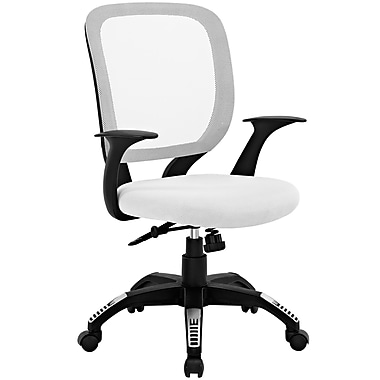 Modway EEI-1245-WHI Scope Office Chair, White