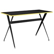 Modway EEI-1325 Contemporary Melamine/Steel Writing Desk