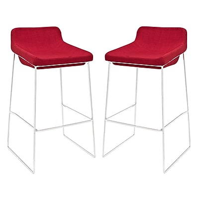 Modway EEI-1364-RED Set of 2 34.5