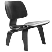 Modway Fathom EEI-510-BLK Wood Lounge Chair, Black