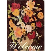 Artehouse LLC Welcome by Lisa Weedn Graphic Art Plaque