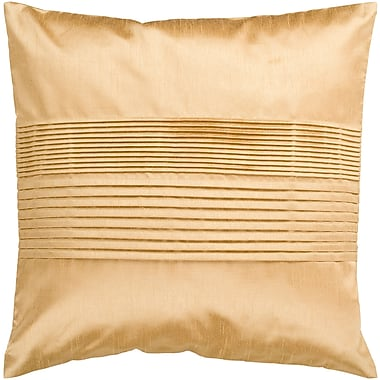 Surya HH022-1818D Solid Pleated 100% Polyester, 18