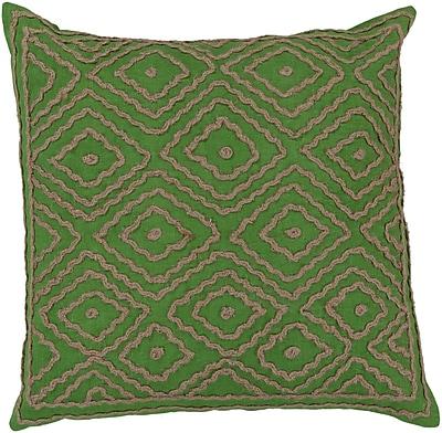 Surya LD028-1818D Atlas 100% Linen w/ Cotton Detail, 18