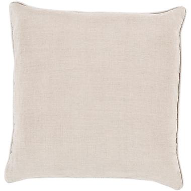 Surya LP008-1818P Linen Piped 100% Linen, 18
