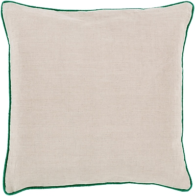 Surya LP002-2222P Linen Piped 100% Linen, 22