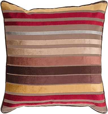 Surya JS023-2222D Velvet Stripe 60% Viscose / 40% Cotton, 22