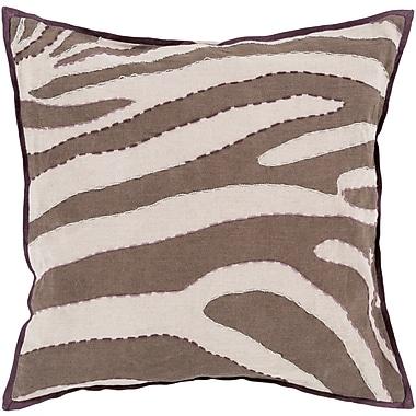 Surya LD041-1818P Zebra 100% Linen, 18