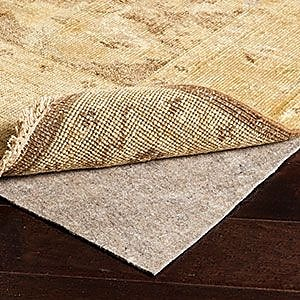 Surya PADF-24 Recycled Synthetic Fibers Rug Pad, 2' x 4'