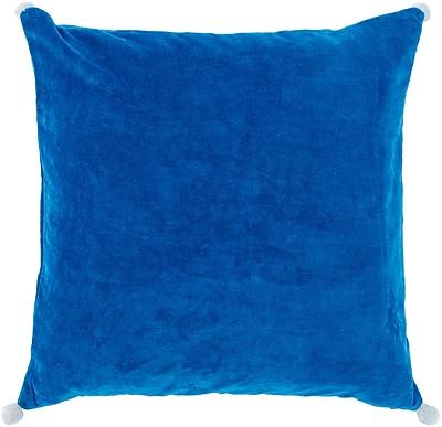 Surya VP001-1818D Velvet Poms 100% Cotton Velvet, 18