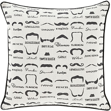 Surya WTS001-2222P Wax that Stache 100% Polyester, 22