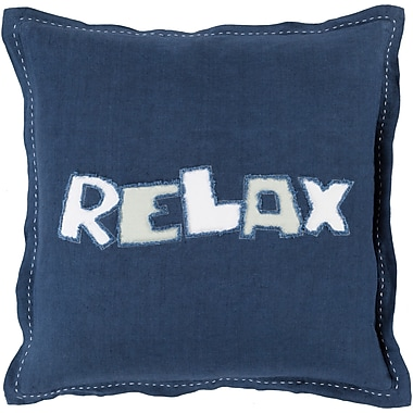Surya RX001-1818D Relax 100% Polyester, 18