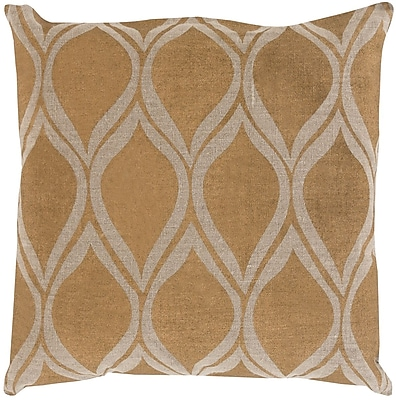 Surya MS008-2020D Metallic Stamped 100% Linen, 20