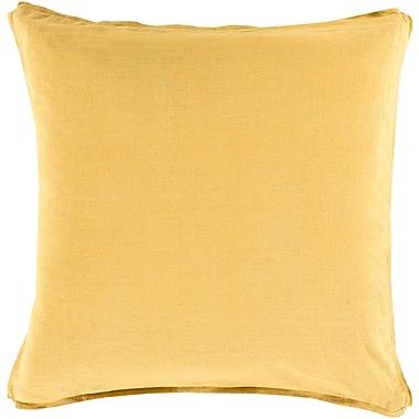 Surya SL011-1818P Solid 100% Linen, 18