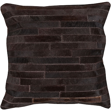 Surya TR005-2222D Trail 50% Hair On Hide, 50% Leather, 22