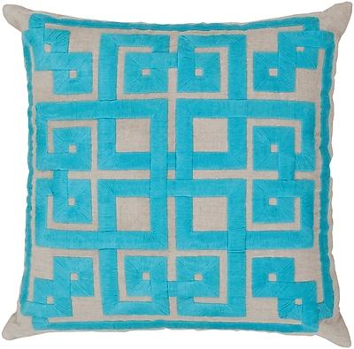 Surya LD009-2020P Gramercy 100% Linen w/ Cotton Detail, 20