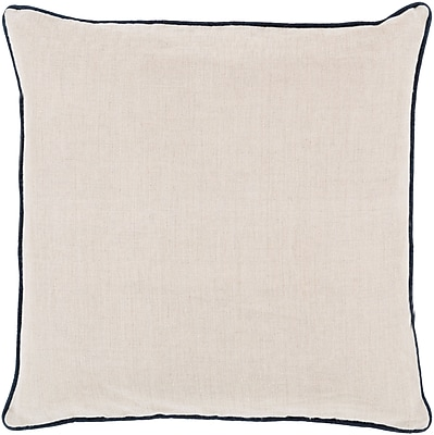 Surya LP006-2222P Linen Piped 100% Linen, 22