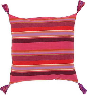 Surya SS002-2222P Stadda Stripe 100% Cotton, 22