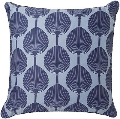 Surya FBK001-1818P Decorative Pillows 100% Cotton, 18