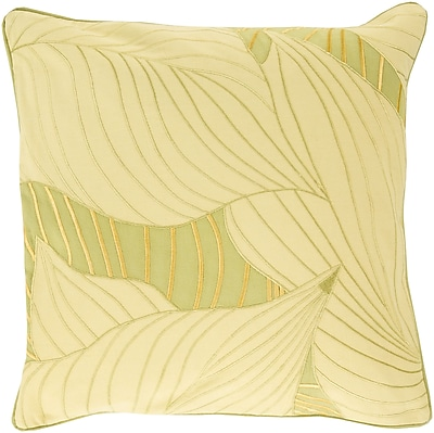 Surya KSH003-1818D Hosta 100% Cotton, 18