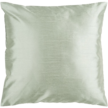 Surya HH031-1818D Solid Luxe 100% Polyester, 18