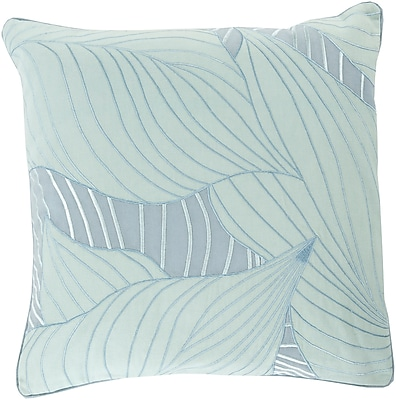 Surya KSH005-1818P Hosta 100% Cotton, 18