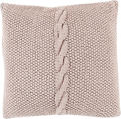 "Surya GN005-2222P Genevieve 100% Cotton, 22"" x 22"" Polyfill"