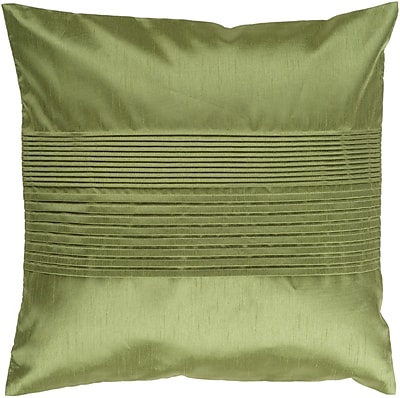 Surya HH013-1818P Solid Pleated 100% Polyester, 18