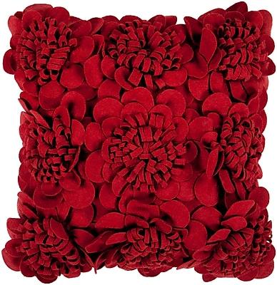 Surya FA084-2222P Felt Garden 100% Wool, 22