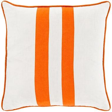 Surya LS004-1818P Linen Stripe 100% Linen, 18