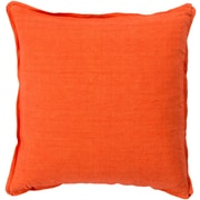 Surya SL003-1818D Decorative Pillows 100deg Linen