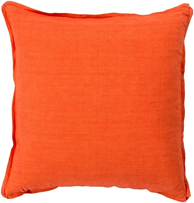 Surya SL003-1818D Decorative Pillows 100% Linen 22