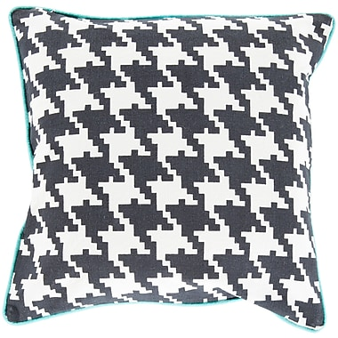 Surya SY034-1818D Houndstooth 100% Cotton, 18