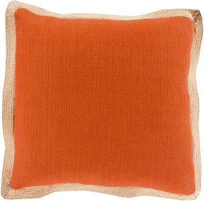 Surya JF004-2020P Jute Flange 90% Cotton, 10% Jute, 20