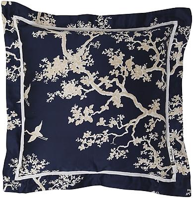 Surya FBC001-1818P Decorative Pillows 100% Cotton, 18