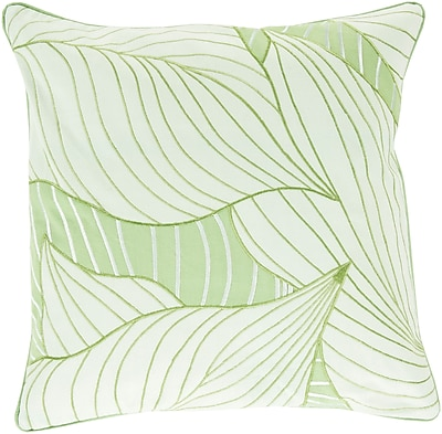 Surya KSH004-1818P Hosta 100% Cotton, 18