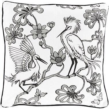 Surya FBE003-2020D Egrets 100% Cotton, 20