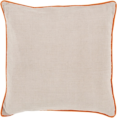 Surya LP001-2020P Linen Piped 100% Linen, 20