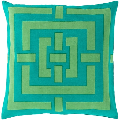 Surya FB006-2020P Circles & Squares 100% Cotton, 20