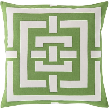 Surya FB004-2020D Circles & Squares 100% Cotton, 20